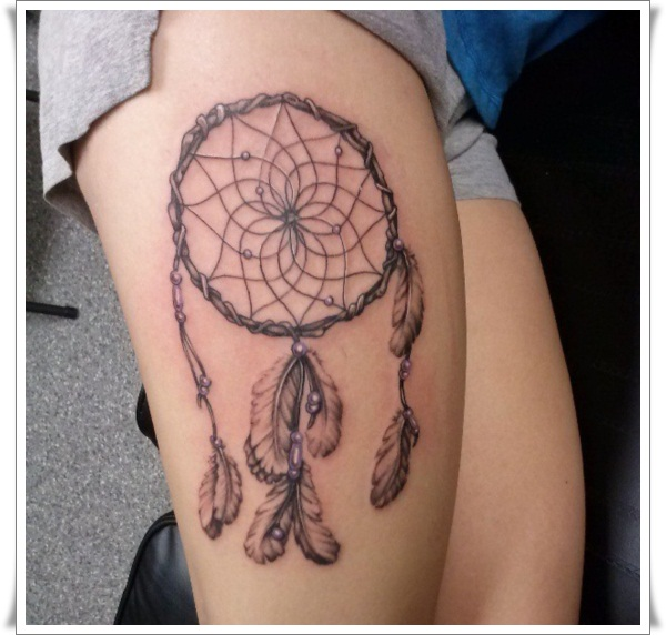 images-dreamcatcher-tattoos-on-thigh1
