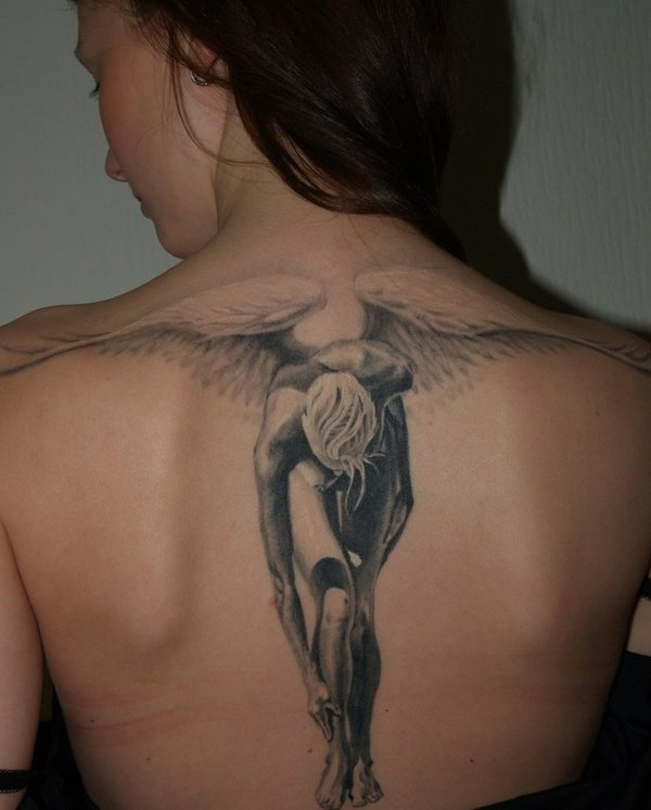 Elegant-Angel-tattoo