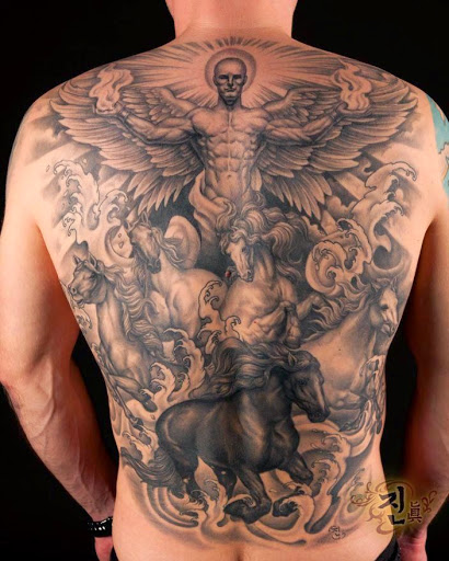 Tattoo Woman Preacher: 35 Hermosos Tatuajes De Angeles