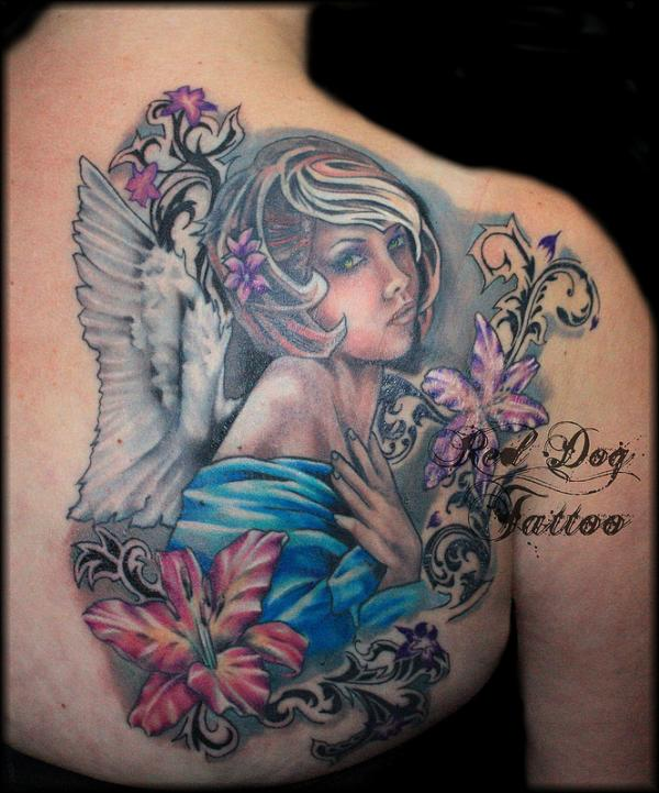 Tatuajes De Angeles 35
